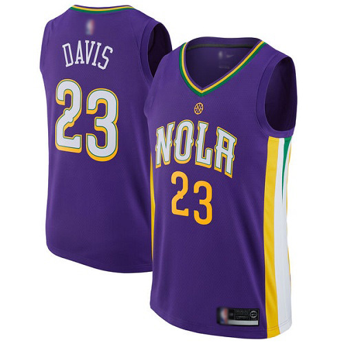 Outerstuff Anthony Davis New Orleans Pelicans #23 NBA Youth Performance Player T-Shirt Youth Large 14//16